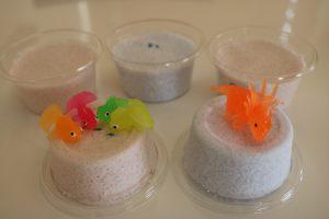 夏休み特別企画・おもちゃ入りバスボム(入浴剤)作り @ 湘南オリーブの郷