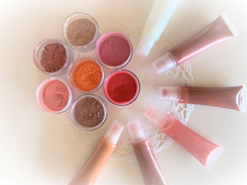 自分カラーのリップクリーム作り